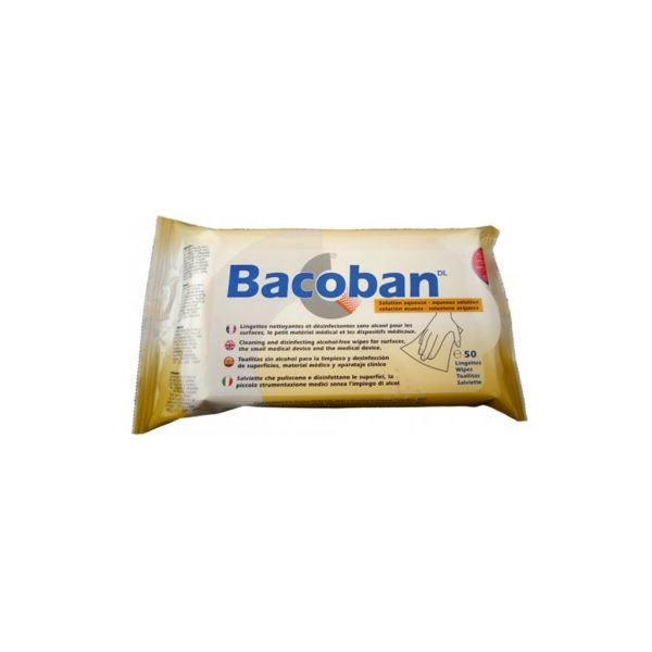 LINGETTES BACOBAN (50 lingettes): EQUIP SANTE PROTECTION - COVID-19